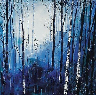 Daniel Campbell print - Birch und Blues