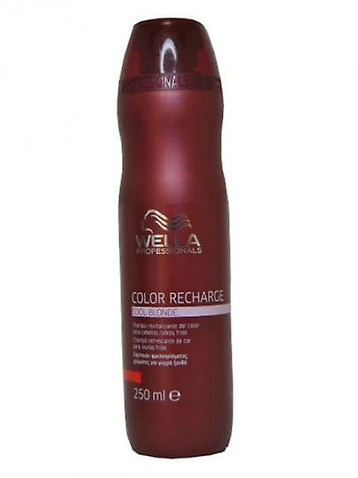 Wella Professionals Cool Blonde Shampoo Wella Recharge 250 Ml