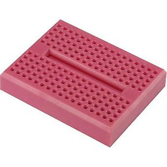 Breadboard Magenta Total number of pins 170 (L x W x H) 46 x 36 x 8 mm Conrad Components 0165-4219-22-15010 1 pc(s)