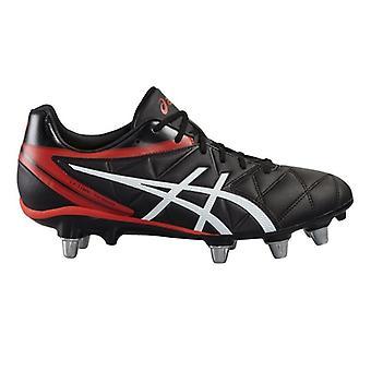 Dødelige Scrum Rugby støvler - svart/svart/Vermillion