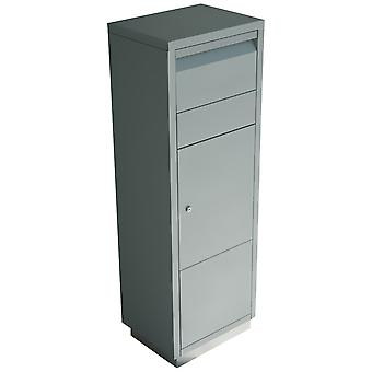 RADIUS package letter box - Letterman standing ovation 2 - silver - 601 C.
