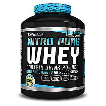 BiotechUSA Nitro Pure Whey Chocolate Flavor 2200 gr (Sport , Proteins)
