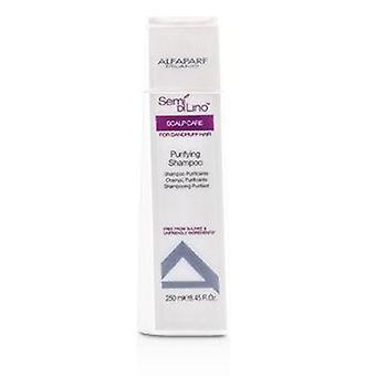 Alfaparf Semi Di Lino Scalp Care Purifying Shampoo (For Dandruff Hair) - 250ml/8.45oz