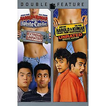 Harold & Kumar Go to White Castle/Escape From Guan [DVD] USA import