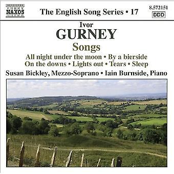 I. gurney - Ivor Gurney: Låtar [CD] USA import
