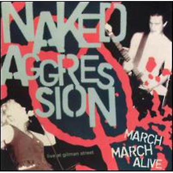 Nøgne Aggression - marts marts Alive [CD] USA import