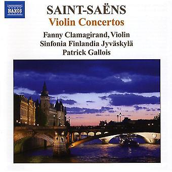 C. Saint-Saens - Saint-Sa Ns: Violin Concertos [CD] USA import