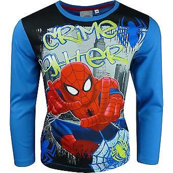 Boys Marvel Spiderman Long Sleeve T-Shirt / Top