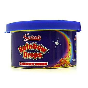 Retro Scents Car Air Freshner Gel Tin with Retro Sweets Rainbow Drops Scent for up to 2 Weeks