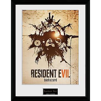 Resident Evil Talisman Framed Collector Print
