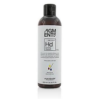 Alfaparf Pigments Hydrating Shampoo (For Slightly Dry Hair) PF014095 - 200ml/6.76oz