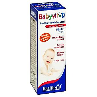 Health Aid Babyvit-D Drops 50 ml (Dietetics and nutrition)