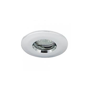 Ansell IP65 MR16/GU10 Die-Cast badeværelse Downlight 50W MR16/GU10 Chrome