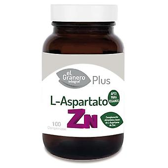 El Granero Integral Zinc L-Aspartate 100Comp. (Vitamins & supplements , Minerals)