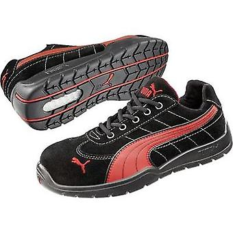 Safety shoes S1P Size: 41 Black, Red PUMA Safety SILVERSTONE LOW HRO SRC 642630 1 pair