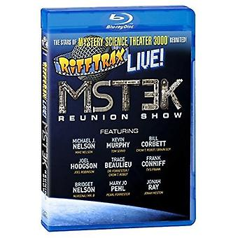 RiffTrax Live: Mst3K Reunion Show [Blu-ray] USA importerer