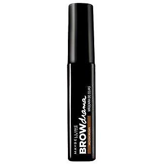 Maybelline Browdrama Mascara Eyebrow Medium Brown (Make-up , Eyes , Brow Fixers)