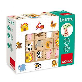Goula Domino Farm (Toys , Boardgames , Traditionals)