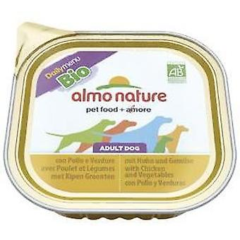 Almo nature Daily Menu Bio Chicken & Vegetable (Dogs , Dog Food , Wet Food)