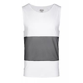 JUNK YARD Christer Idris shirt men's tank top White with mesh inserts
