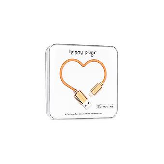 Happy Plugs Lightning To USB Charge/Sync Cable (2 M) Rose Gold