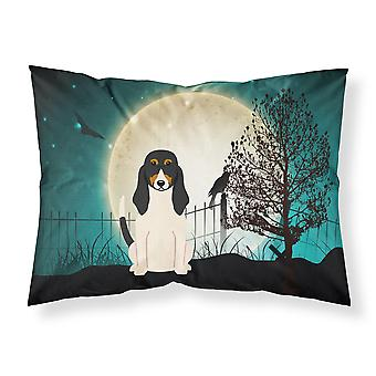 Halloween Scary Swiss Hound Fabric Standard Pillowcase