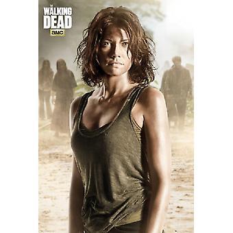 Fuß tot Maggie Poster Plakat-Druck