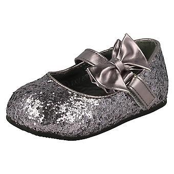 Spot de filles sur Glitter Bow Detail Flats Party H2305