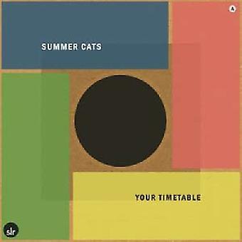 Sommer katte - din tidsplan [Vinyl] USA importerer