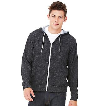 Bella + Canvas Mens Zip-Up Hooded Sweat / Hoodie (240 Gsm)