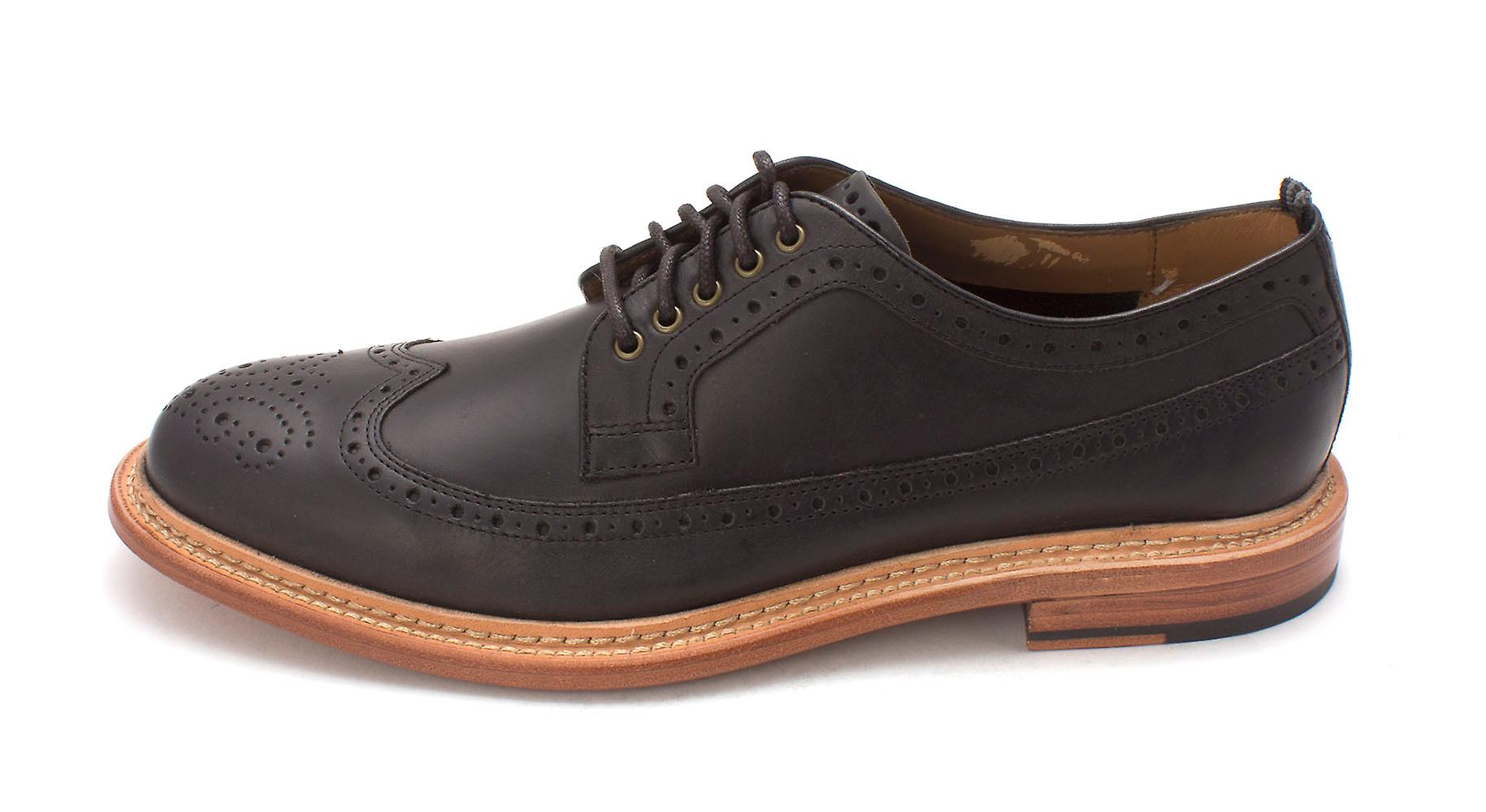 Cole Haan Mens Willet - ala lunga Ox Leather Lace Up Oxfords Dress