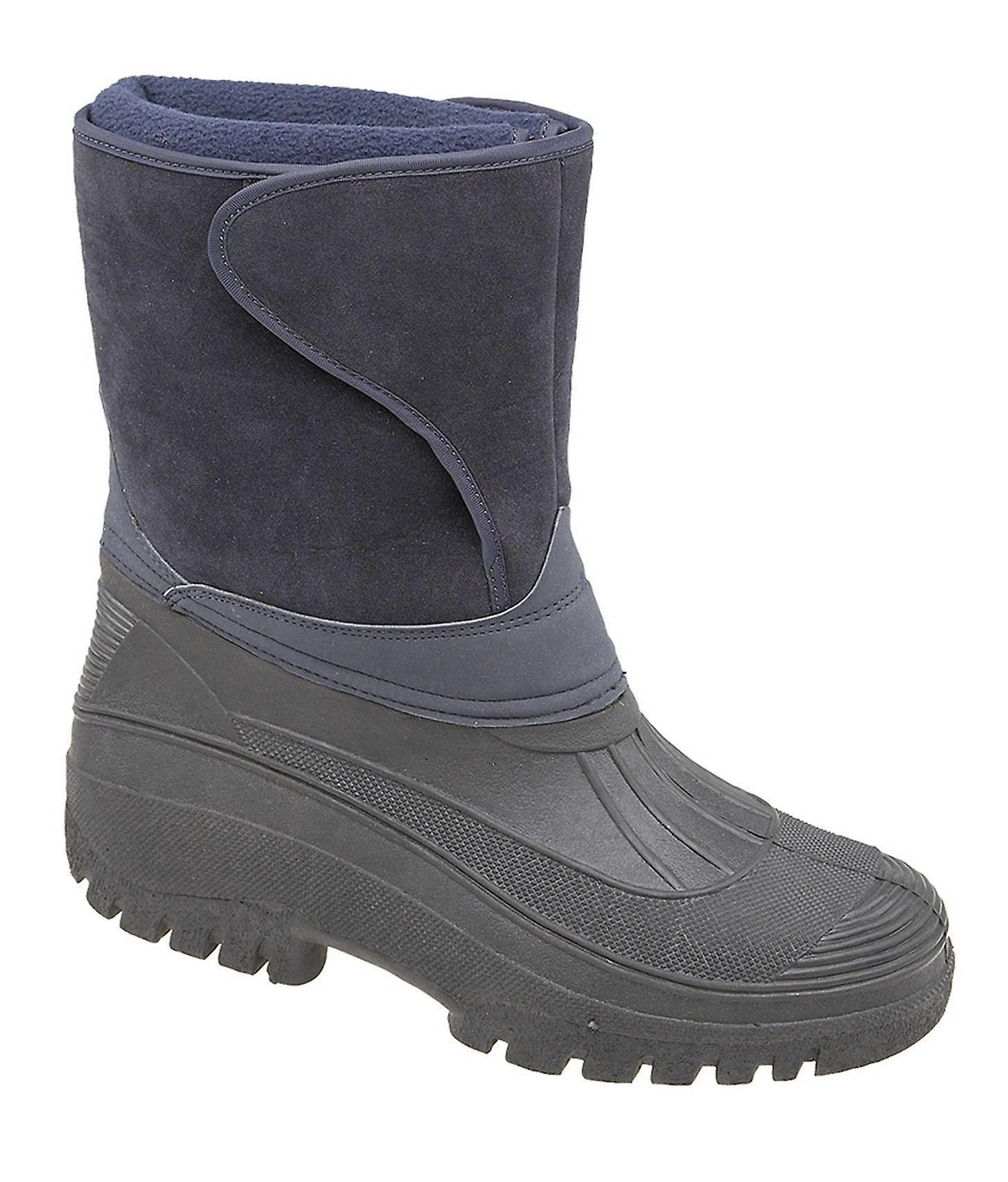 Mens Ladies Thermal Womens Thermal Ladies Waterproof Warm Lined Winter Mid Calf Boots Shoes:Men's/Women's:Modern Techniques 591567