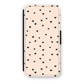 6/6 s の iPhone フリップ ケース - 少し猫