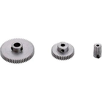 Steel Spur gear Reely Module Type: 0.5 Bore diameter: 4 mm No. of teeth: 45