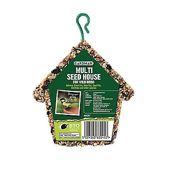 Multi Seed House for Wild Birds