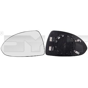 Left Mirror Glass (heated) & Holder For OPEL CORSA E Van 2015-2018