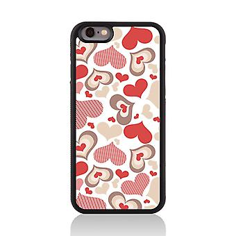 Call Candy Apple iPhone 7 Shape Of My Heart 2D Printed Case