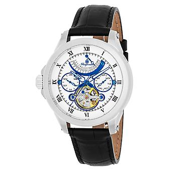 Burgmeister BM350-112 Colorado Springs, Gents automatic watch, Analogue display - Water resistant, Stylish leather strap, Classic men's watch