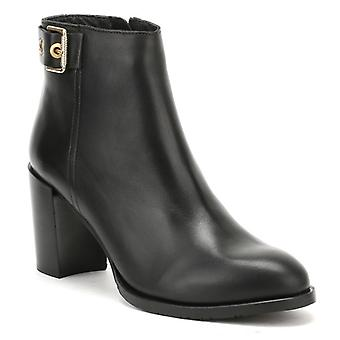Tommy Hilfiger Womens Black Penelope 18A Ankle Boots
