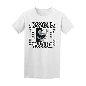 Skull Double Trouble Tee Men's -Image by Shutterstock