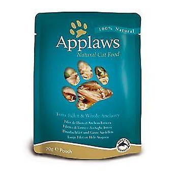 Applaws Cat Food Layers Tuna With Anchovy 70g