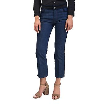Miu Miu Women's Cotton Slim Fit Jean Pants Indigo