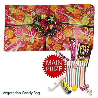 Pass the Parcel Ready Made Party Game - Vegetarian Sweet Packed - 8, 10, 12, 14, or 16 Layers