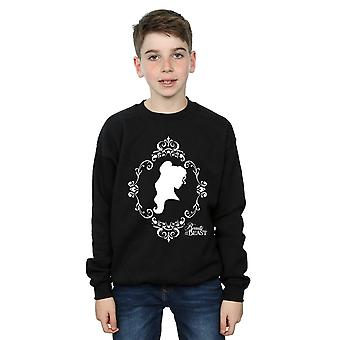 Disney Princess Boys Belle Silhouette Sweatshirt