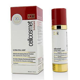 Cellcosmet & amp; Cellmen Cellcosmet ultra vital Light intensive revitaliserende cellulære emulsion-50ml/1.6 oz