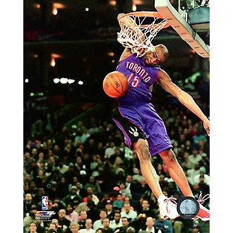 Vince Carter 2000 NBA All-Star-Slam Dunk Contest Action Photo Print