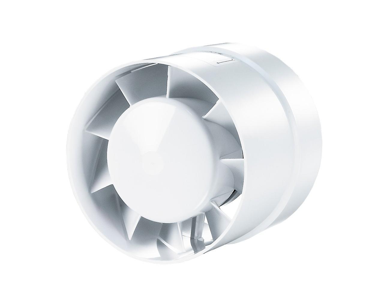 Vents aksial innebygd vifte 100 VKO serien til 135 m³/t
