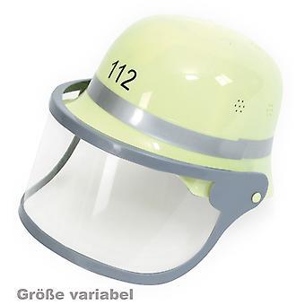 Fire helmet with visor helmet