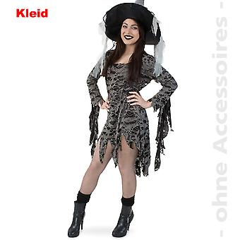 Zombie undead Lady costume Voodoo shreds dress ladies costume witch dress