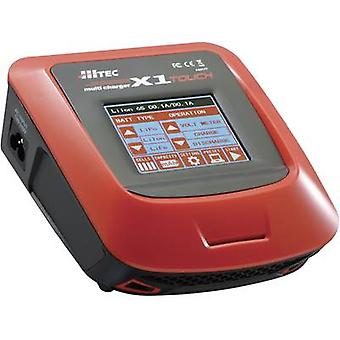 Scale model multifunction charger 110 V, 220 V 7 A Hitec X1 Touch NiMH, NiCd, LiPolymer, Li-ion, LiFePO